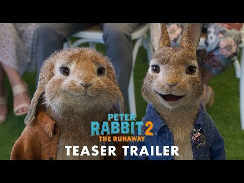 El conejo más divertido del cine regresa en Peter Rabbit 2: A la fuga