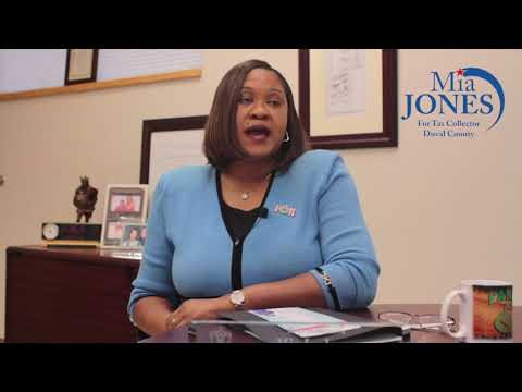Vote Mia Jones For Duval County Tax Collector