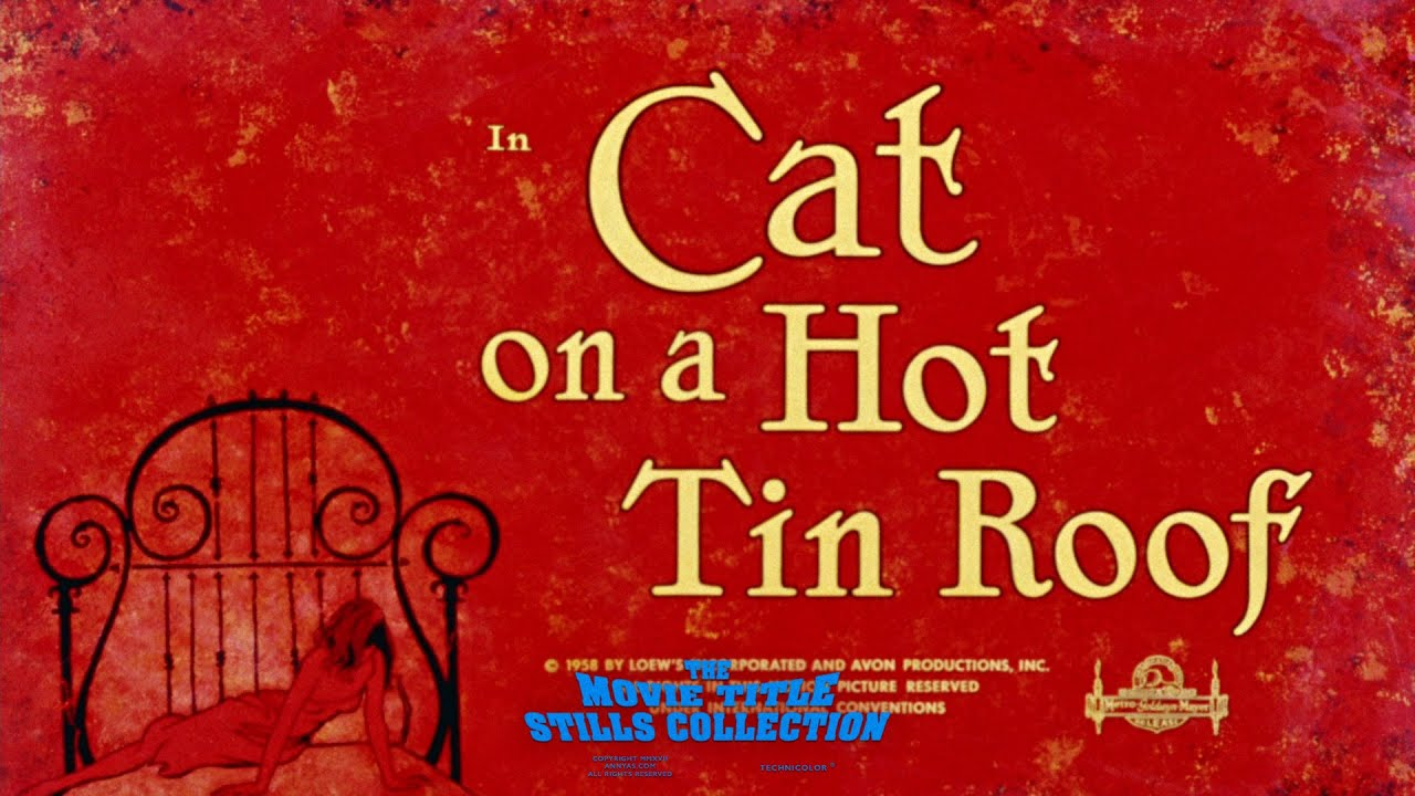 Cat on a hot tin roof 20 title sequence