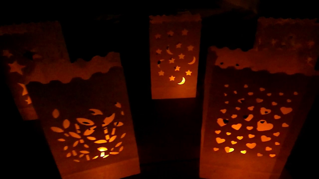Bolsas de papel para velas youtube - Bolsas de papel para velas ...