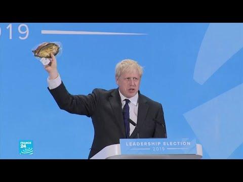 لماذا يحمل جونسون -سمكة مجففة- للدفاع عن خروج بريطانيا من الاتحاد الأوروبي؟