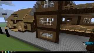 Minecraft.kz Красивый дом (2)