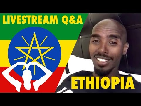 Mo Farah Live in Ethiopia 🇪🇹   Q&A Including How to Breathe While Running