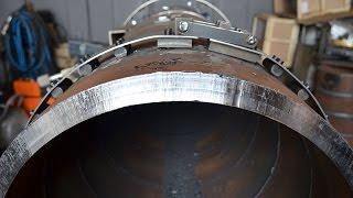 Торцевание труб и подготовка кромки при помощи фаскореза