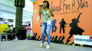 Timor Plaza Singing Competition at Centre Court: Runner-up Ofelia Tavares