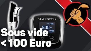 Sous vide меньше чем за 100 евро. Распаковка, Skills&Tools