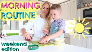 MORNING ROUTINE 2019  |  WEEKEND EDITION  |  EMILY NORRIS