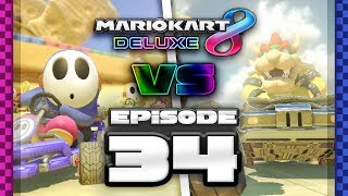 CANNONBALL PLOWED Mario Kart 8 Deluxe Online Team Races - Ep 34 w/ TheKingNappy + Friends!