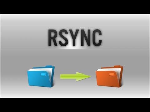 Rsync (Remote Sync) - Backup and Synchronize Data Tutorial
