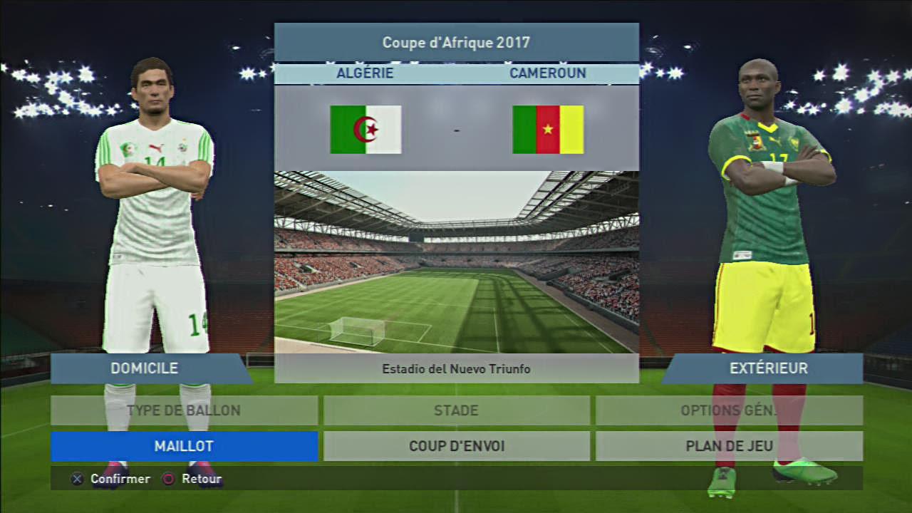 Finale de la coupe d 39 afrique sur playstation 3 entre l for Bank exterieur d algerie