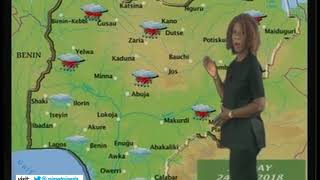 NIGERIAN WEATHER FORECAST FOR 24/06/2018 WITH IMARA JOYCE NCHOM