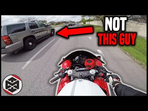 What's the Deal with Motorcycle Cops??