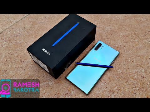 Samsung Galaxy Note 10 Plus Unboxing Review