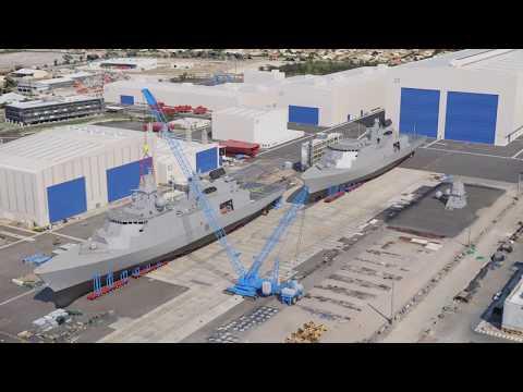 Osborne shipyard, Adelaide, promo