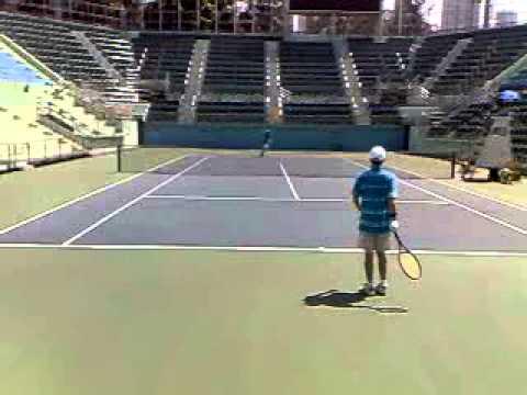 Eastern District Tennis match in Victoria Park Central Court