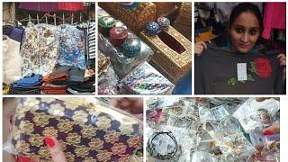JANPATH MARKET DELHI   Winter collection latest 2018 video  jewellery handbags earings