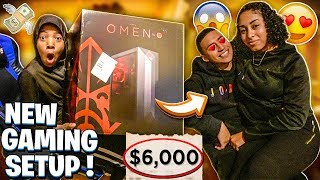 SURPRISED MYKEL WITH A GAMING SETUP & RUNIK GOT A NEW GIRLFRIEND!