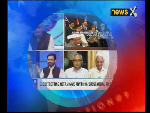 Nation at 9: Junket over, Maha Agri minister evades press
