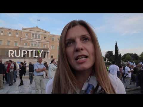 Greece: Thousands protest against privatisation of public utilities in Athens