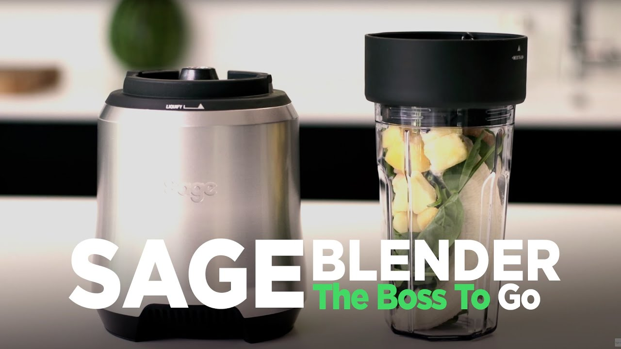 SAGE The Boss To Go blender. Mads Bo laver smoothie To Go. - YouTube