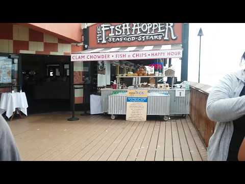 Lunch @ The Fish Hopper In Monterey!!!