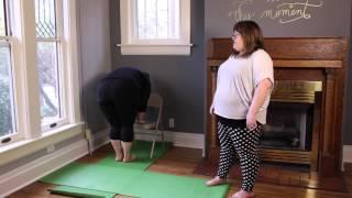 Curvy Yoga - Revolved Triangle