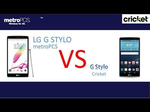 LG G STYLO  ( metro PCS  ) VS LG G STYLO ( CRICKET )