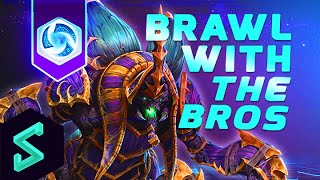 Heroes of the Storm Gameplay   EU Brawl With The Bros 49   FourCourtJester & Pureshield   HotS