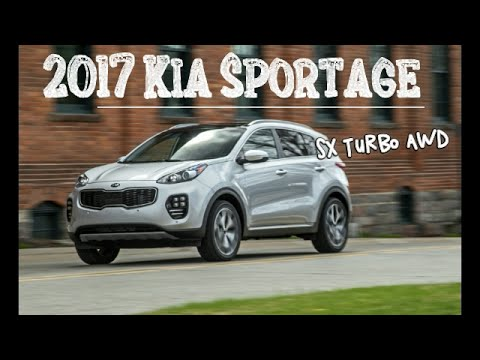 2017 kia sportage sx turbo awd sportage trades power for fuel economy youtube. Black Bedroom Furniture Sets. Home Design Ideas