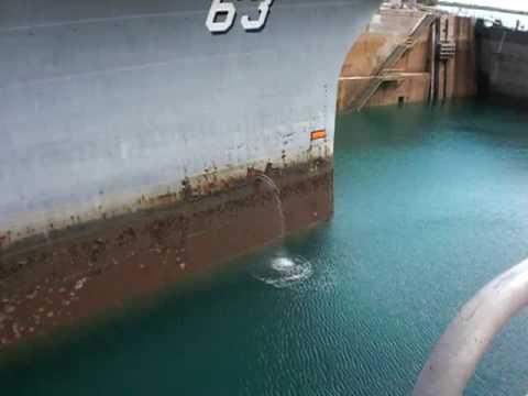 Battleship Missouri Drydock
