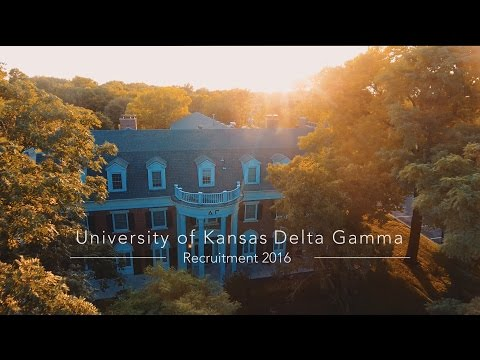 University of Kansas Delta Gamma Recruitment 2016