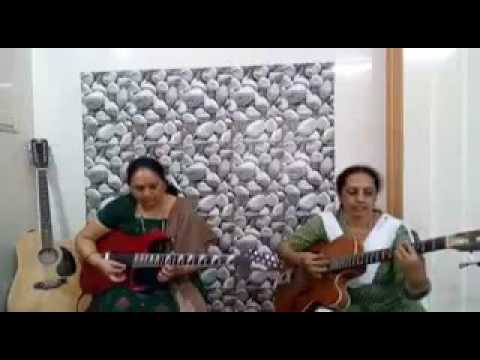 2 Indian Aunties Killing It On Electric Guitar
