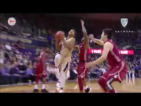Recap: Washington State men's basketball defeats rival Washington in Seattle