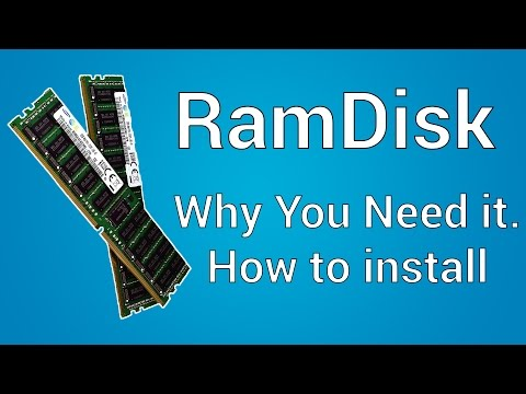 Ramdisk | Why is it important & Tutorial - YouTube