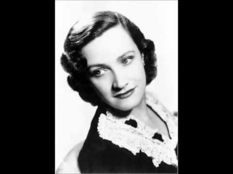 "Kathleen Ferrier, contralto ""Bist du bei mir""  1950 (HQ)."