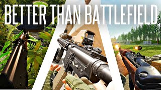 Large-Scale Shooter Games tнat do Battlefield but BETTER!