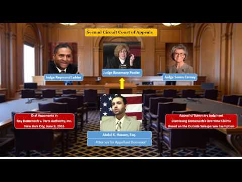 Second Circuit Court of Appeals - Oral arguments in Domenech v. Parts Authority