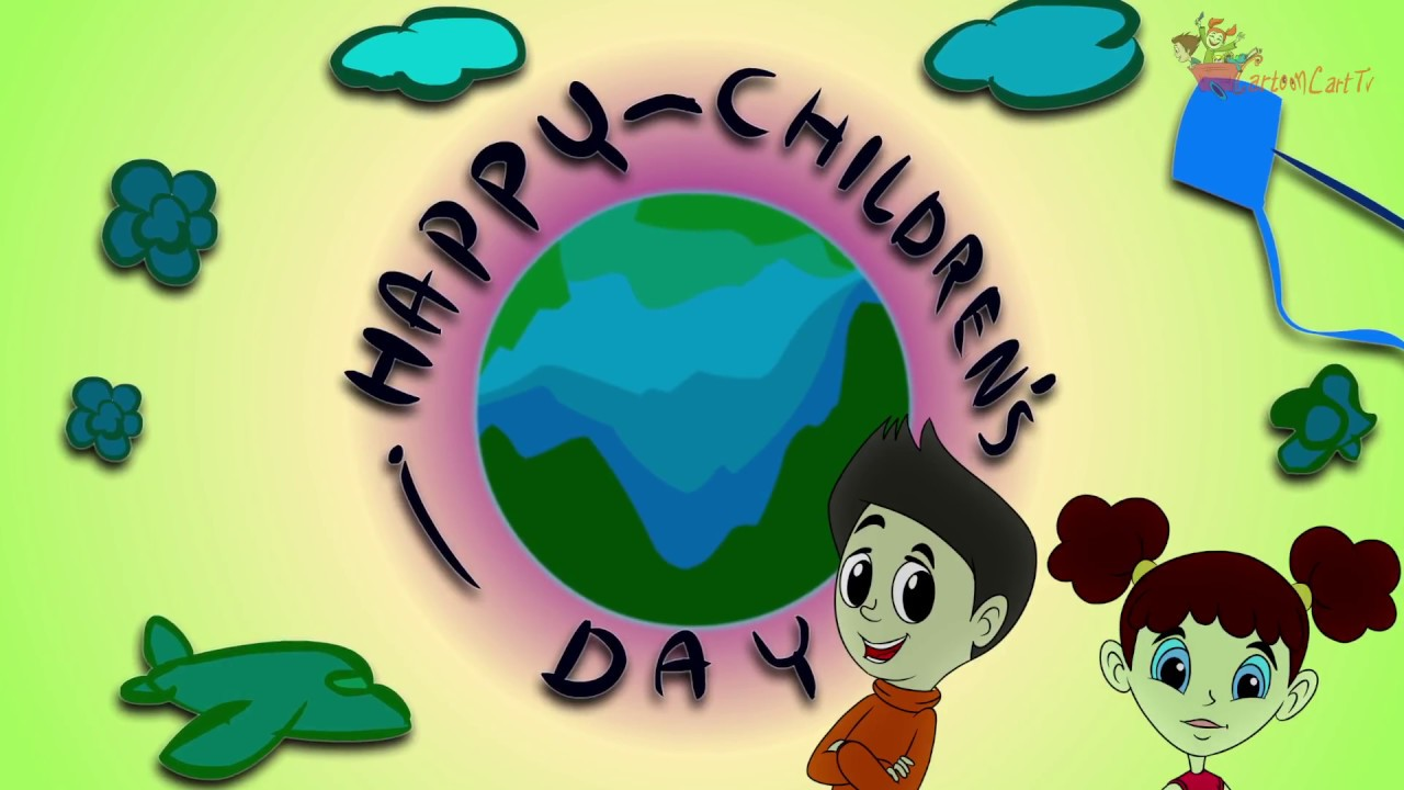 Happy Children S Day Kids Funny Animated Video Watsapp Status Wishes