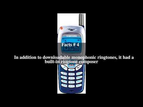 Samsung SGH R220 Top # 6 Facts
