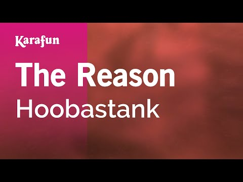 Karaoke The Reason  Hoobastank *