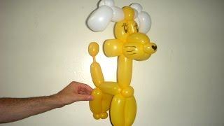 Как сделать собаку из шариков