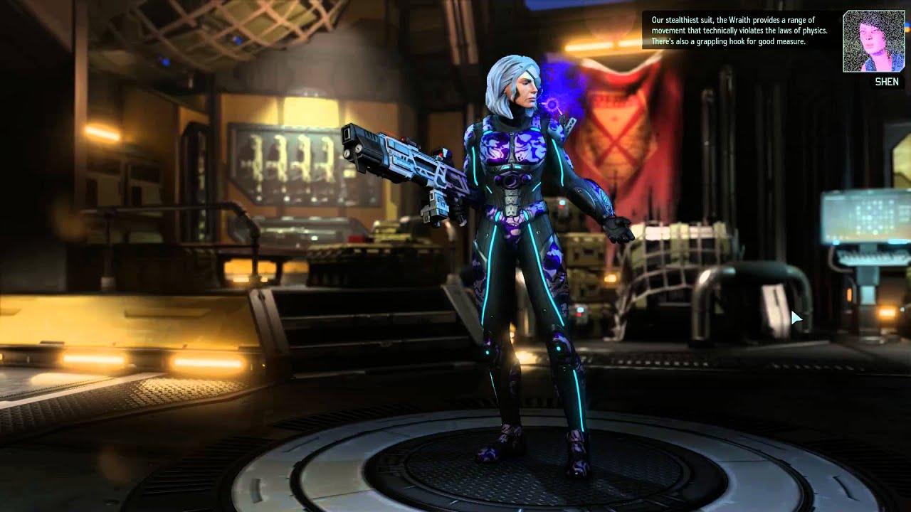 Xcom 2 the wraith armor preview youtube for Portent xcom not now