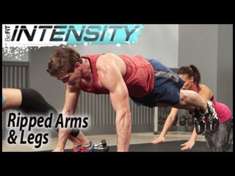 BeFiT Intensity: Ripped Arms & Legs Workout- Scott Herman