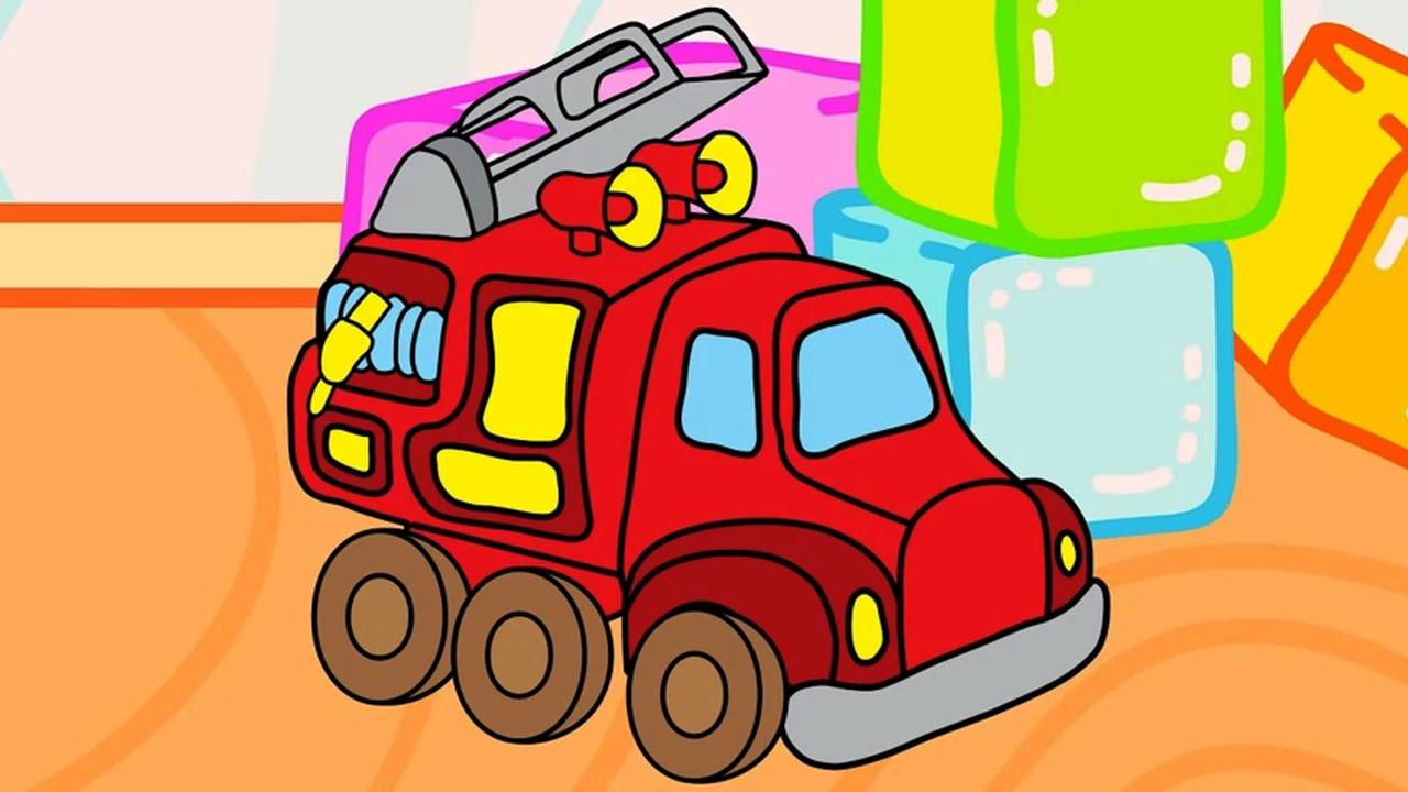 Encantador Páginas Para Colorear De Bomberos Para Preescolares ...