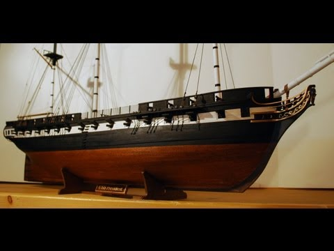 Creating the USS President of 1800 by the Art of Age of Sail