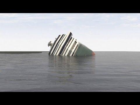 Costa Concordia wreck removal