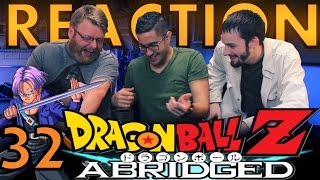 TFS DragonBall Z Abridged REACTION!! Episode 32
