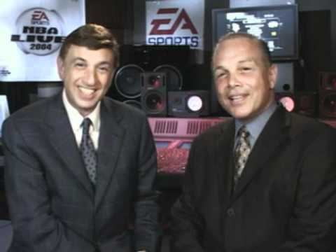 NBA LIVE 2004 PC Intro - Marv Albert and Mike Fratello (Bloopers)