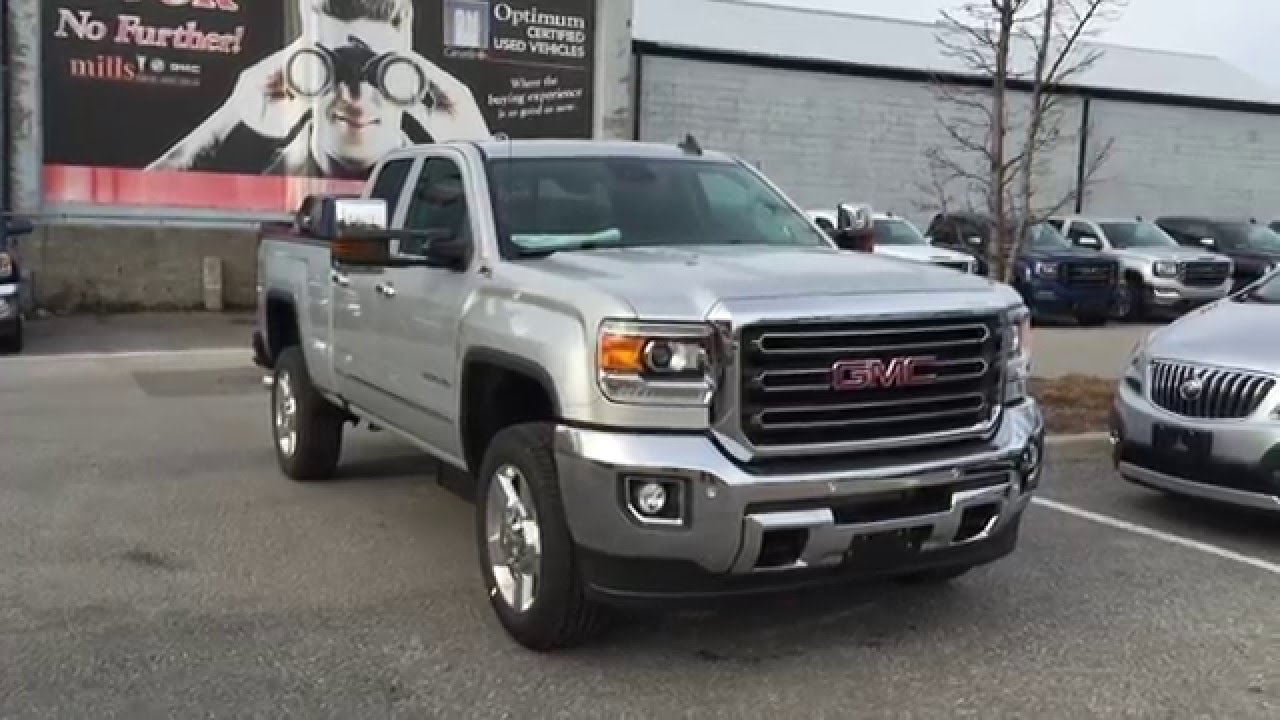 2016 GMC Sierra 2500HD SLT 4WD Diesel Oshawa ON Stock ...