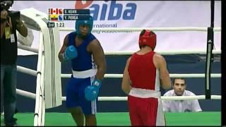 Super Heavy (+91kg) SF - Kean (CAN) vs Perea (ECU) - 2012 American Olympic Qualifying Event